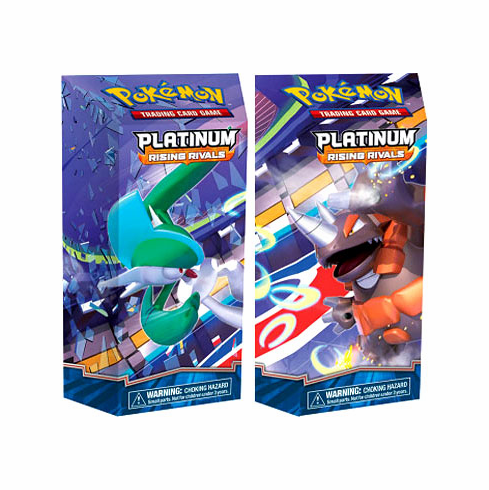 Pokemon Platinum Rising Rivals Theme Decks [Drill Point & Cutting Edge]