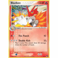 Pokemon POP Series 1 Promo Card Blaziken 1/17 Holo Rare
