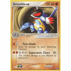 Pokemon POP Series 1 Ultra Rare Promo Card - Armaldo EX 16/17