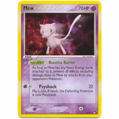 Pokemon POP Series 4 Mew 4/17 Holo Rare Promo Single Card