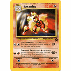 Pokemon Promo Card - Arcanine #6