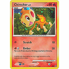 Pokemon Promo Card - Chimchar