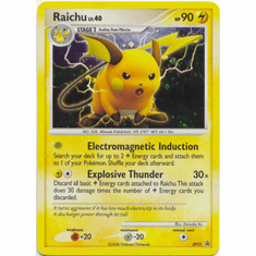 Pokemon Promo Card Diamond & Pearl Holofoil Raichu