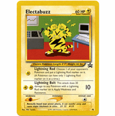 Pokemon Promo Card - Electabuzz #46