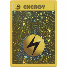 Pokemon Promo Card - Lightning Energy Holofoil