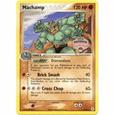 Pokemon Promo Card - Machamp (National Championships)