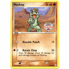 Pokemon Promo Card - Machop (City Championships)