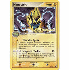 Pokemon Promo Card - Manectric (Prerelease)