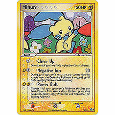 Pokemon Promo Card - Minun