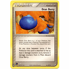 Pokemon Promo Card - Oran Berry Trainer
