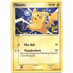 Pokemon Promo Card - Pikachu (Comic Con)
