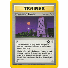 Pokemon Promo Card - Pokemon Tower