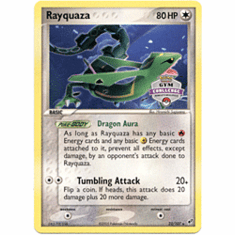 Pokemon Promo Card - Rayquaza (Gym Challenge World Qualifiers)