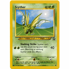Pokemon Promo Card - Scyther #45
