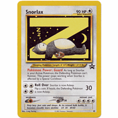 Pokemon Promo Card - Snorlax #49