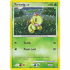Pokemon Promo Card - Turtwig