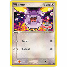 Pokemon Promo Card - Whismur (City Championship)