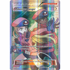 Pokemon Ranger 113/114 Full Art - Pokemon XY Steam Siege Card