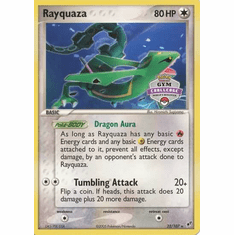 Pokemon Rare Promo Single Card - Rayquaza 22/107 (Gym Challenge)