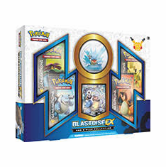 Pokemon Red & Blue Blastoise EX Collection Box