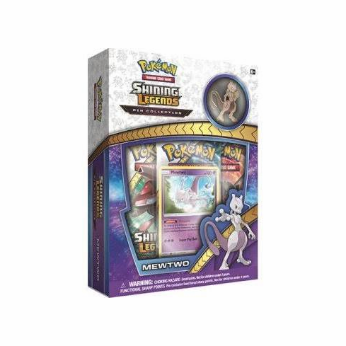 Pokemon Shining Legends Mewtwo Pin Box