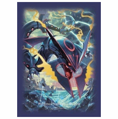 Pokemon Shiny Mega Rayquaza Deck Protector 65ct