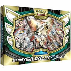 Pokemon Shiny Silvally-GX Box