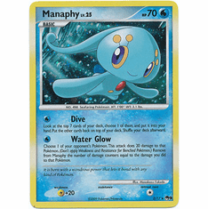 Pokemon Single Card Promo POP Series 9 Holofoil Manaphy 2/17