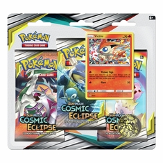 Pokemon - SM Cosmic Eclipse 3 Booster Blister - Victini