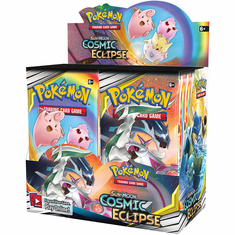 Pokemon  Sun & Moon Cosmic Eclipse Booster Box