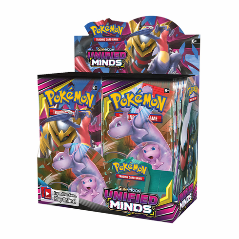 Pokemon - SM Unified Minds Booster Box  Preorder  Expected Release: August 2, 2019. Date