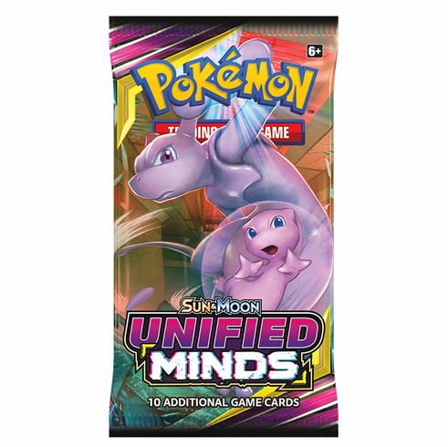 Pokemon - SM Unified Minds Booster Pack SM Unified Minds