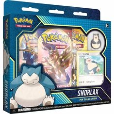 Pokemon - Snorlax Pin Collection