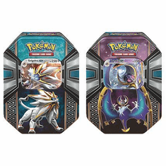 Pokemon Spring 2017 Legends of Alola Set of 2 Collector Tins [Lunala-GX & Solgaleo-GX]