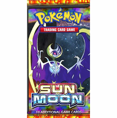 Pokemon Sun & Moon Base Set Booster Pack