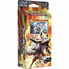 Pokemon Sun & Moon Burning Shadows Rock Steady Theme Deck [Lycanroc]