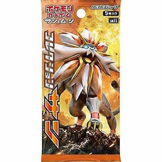 Pokemon Sun & Moon Collection SUN Japanese Booster Pack