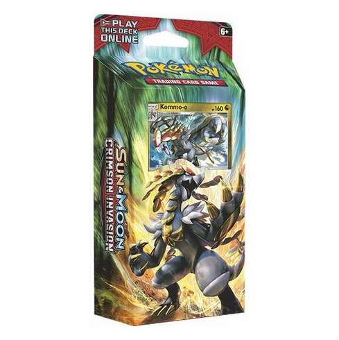 Pokemon Sun & Moon Crimson Invasion Clanging Thunder Theme Deck