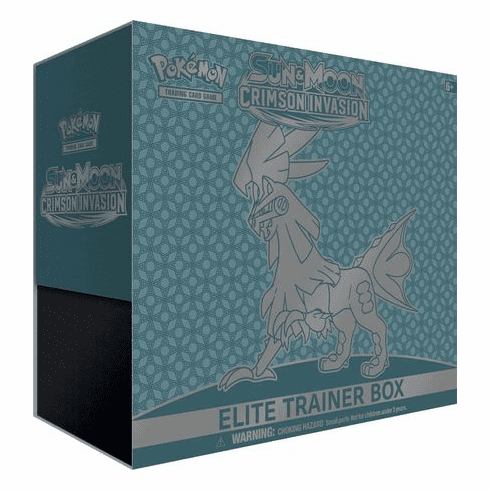 Pokemon Sun & Moon Crimson Invasion Elite Trainer Box