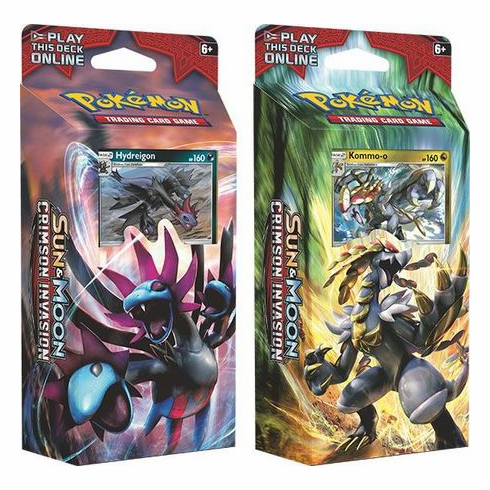 Pokemon Sun & Moon Crimson Invasion Theme Deck Bundle