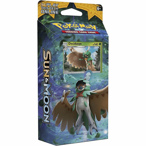 Pokemon Sun & Moon Forest Shadow Theme Deck [Decidueye]