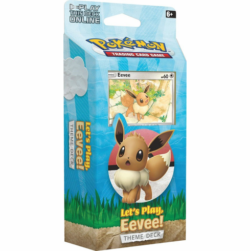 Pokemon Sun & Moon Let's Play Theme Deck [Eevee] (Pre-Order ships February)