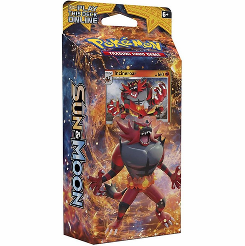 Pokemon Sun & Moon Roaring Heat Theme Deck [Incineroar]