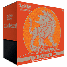Pokemon Sun & Moon Solgaleo Elite Trainer Box