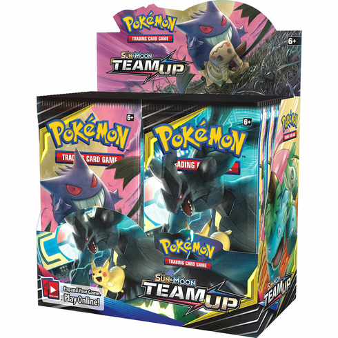 Pokemon Sun & Moon Team Up Booster Box [36 Packs] (Pre-Order ships February)