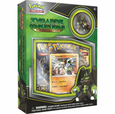 Pokemon Sun & Moon Zygarde Complete Collection Pin Box