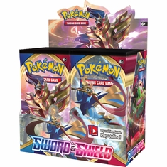 Pokemon - Sword and Shield Booster Box