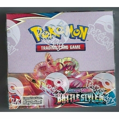 Pokemon - SWSH Battle Styles Booster Box Sealed