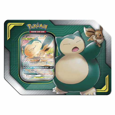 Pokemon - TAG TEAM Tin - Eevee & Snorlax-GX