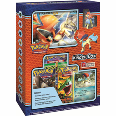 Pokemon TCG Keldeo Figure Box